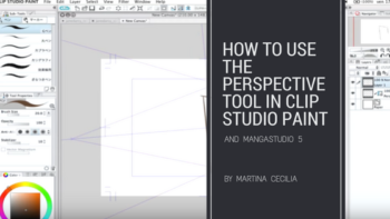 Clip Studio Paint perspective tool – a video tutorial