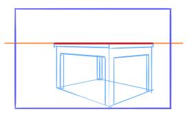10 perspective errors - planes tangent to horizon line