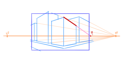 10 perspective errors - lines not reaching the vanishing point