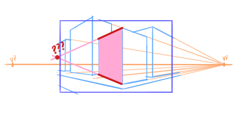 10 perspective errors - planes not reaching the vanishing point