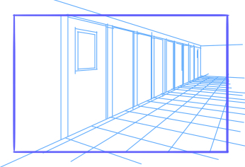 10 perspective errors - lines with no width variations