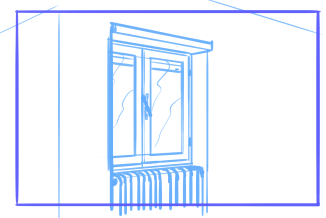 10 perspective errors - Objects with no depth and finishings