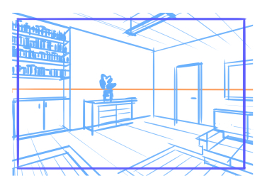 10 perspective errors - Misplaced Vanishing points and exaggerated perspective