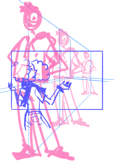 10 perspective errors - characters not in perspective